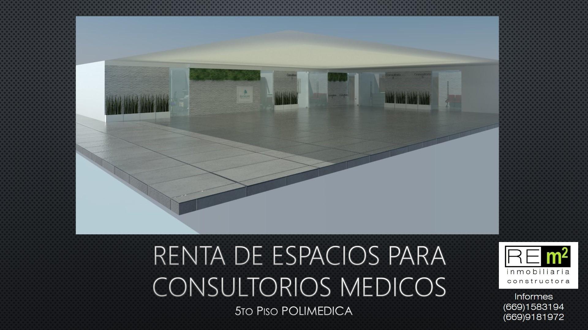 Consultorios Médicos en Renta. Edificio Polimédica. Mazatlan, Sinaloa.