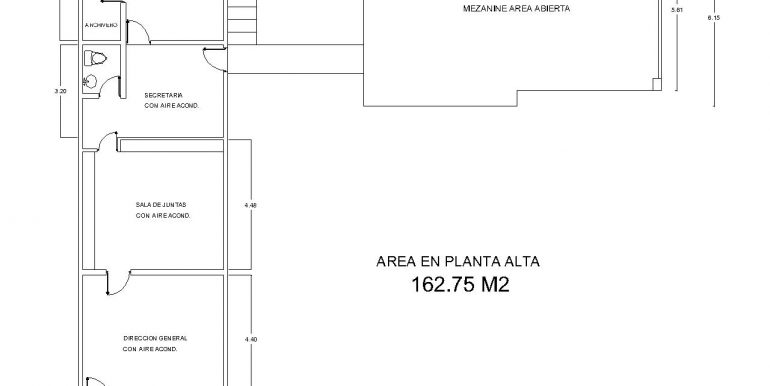 Gro. Ind.Interior Planta Alta